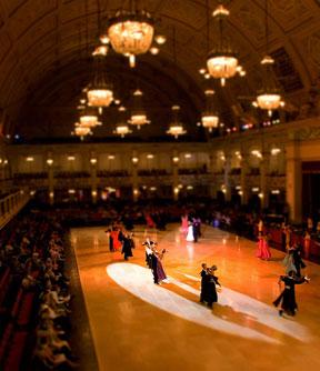 Конкурсы на бальные танцы